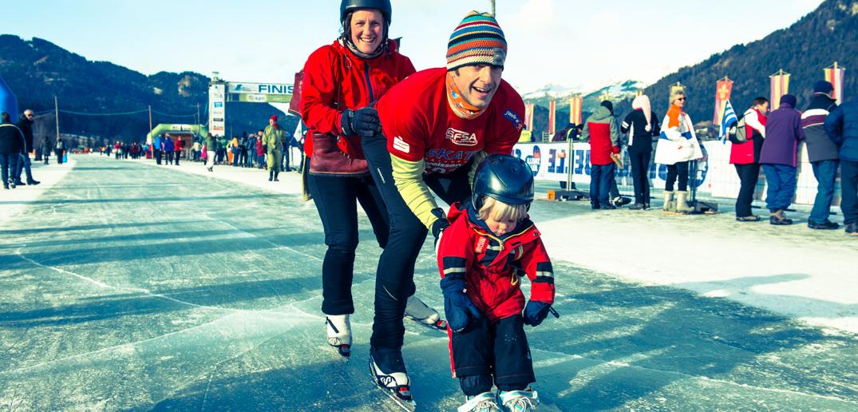 """""""skate_weissensee"""": Bei uns haben auch die Jüngsten Spaß ! ( Copyright: www.christianprenner.at )"""